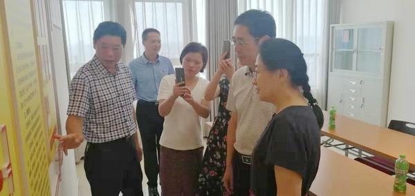 芜湖市政协来天长网委员工作室调研线上线下协商工作